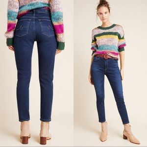 AG The Stevie High-Rise Petite Skinny Jeans